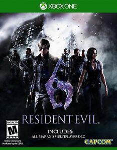 Resident Evil 6 XBOX ONE NEU! Walking Dead Zombies Hunt Terrorismus, Regenschirm Gore