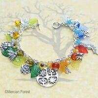 The Four Seasons Pagan Bracelet - Spring, Summer, Winter, Autumn Jewellery