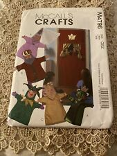 UNCUT HAND PUPPET THEATRE FROG PRINCE JESTER KING QUEEN PATTERN BUTTERICK 3230