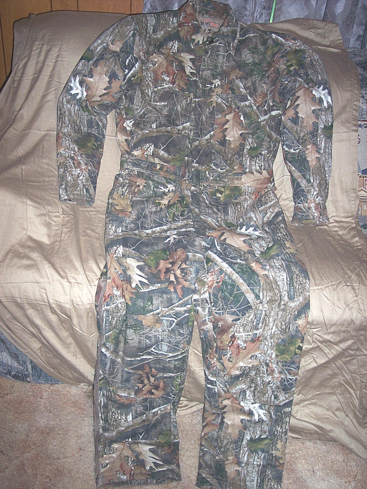 Camuflaje real 3x masculino aislante traje de caza camuflaje