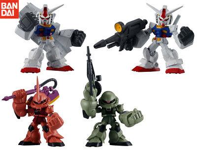 BANDAI Mobile Suit Gundam Expand 01 Gashapon Figure set of 4 RX-78-2 Zaku II