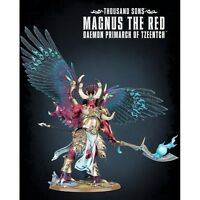 Games Workshop W40k Thousand Sons Magnus The Red