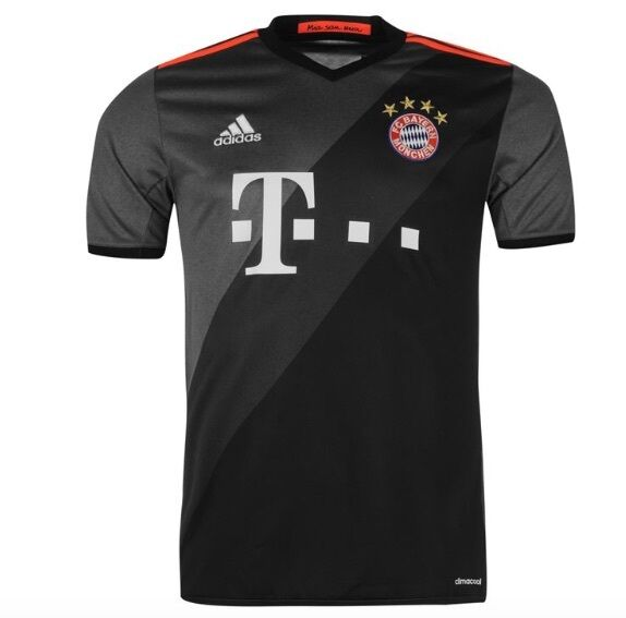Adidas FC Bayern München Away Auswärts Trikot Grau 2016 2017 alle Größen Neu