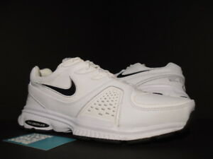 ed8bf8c3a098b 2008 NIKE AIR EDGE TRAINER LEATHER 08 WHITE BLACK MAX 1 318087-102 ...