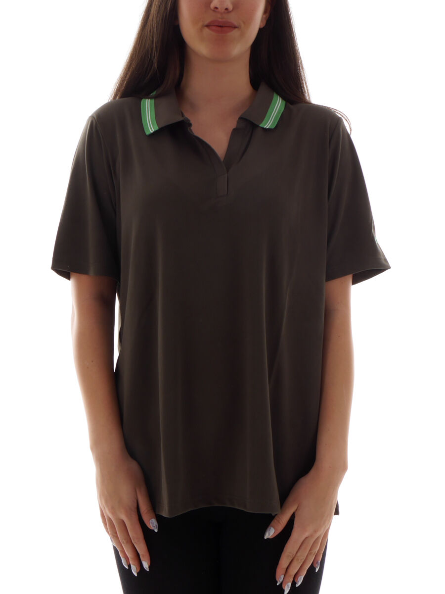 CMP Polo Shirt Top Dress Shirt Brown dryfunction  Collar  fast delivery and free shipping on all orders