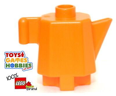 Lego Duplo Item Coffee//Tea Pot Orange