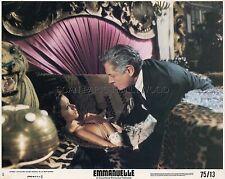 SEXY SYLVIA KRISTEL  ALAIN CUNY EMMANUELLE 1974 VINTAGE LOBBY CARD #2