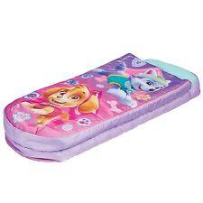 PAW PATROL SKYE JUNIOR READY BED SLEEPOVER GIRLS KIDS AIR BED WITH PUMP