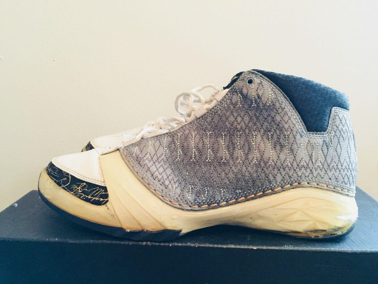 a4dbd4b24076bd 2007 Mens Nike Nike Nike Air Jordan XXIII 23 Stealth Gold Black Size 10  Used Rare