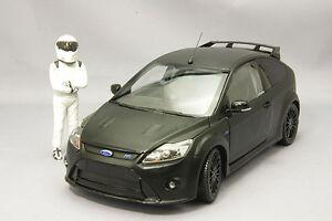 Ford Focus Rs500 Supérieur Noir Avec Personaggio 1/18 Minichamps 519100800