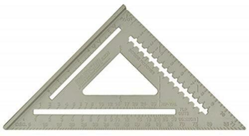 """Johnson Level /& Tool RAS-120 12/"""" Aluminum Rafter Angle Square with Manual"""