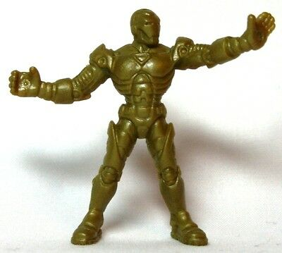 Hasbro Marvel Handful of Heroes Wave 1 - Iron Man B Solid Gold Dull