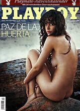 Playboy Dezember/12/2013  PAZ DE LA HUERTA & Adventskalender! mit Abo-Cover!*