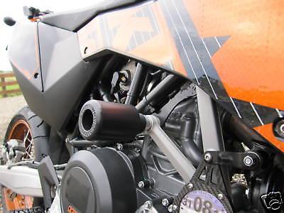 KTM 690 SMCR 2012-2018 REAR AXLE CRASH MUSHROOMS SLIDERS BOBBINS PROTECTORS
