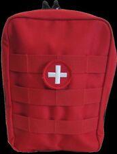 Gunshot Trauma Kit & Quick Response Kit Miltary Life Threatening Schools Red