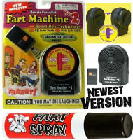 1 Fart Machine 2 Wireless Remote Control + 1 Fart Stink Bomb Spray Can Combo