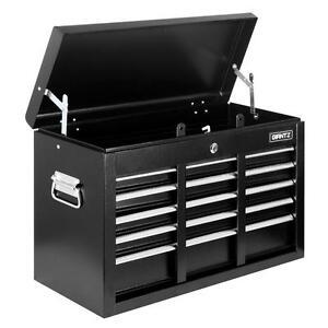 New-Lockable-Heavy-Duty-9-Multi-Size-Drawers-Garage-TOOL-BOX-Toolbox-Chest-Black