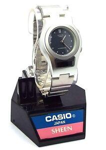 2f6cb40f40f Image is loading Casio-Ladies-Sheen-Timepiece-Analog-Digital-Combination -Watch-