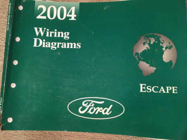 2004 Ford Escape Electrical Wiring Diagram Service Shop