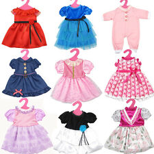 5pcs Doll Clothes for DIY 18'' Doll Princess Dress Skirt Kid Gift