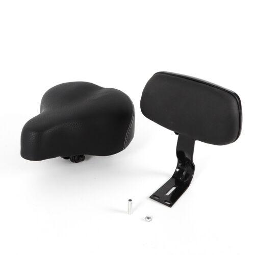 Breites Sattelsitz-Elektrofahrzeug-Dreiradfahrrad-Fahrradauflage mit Rückenlehne