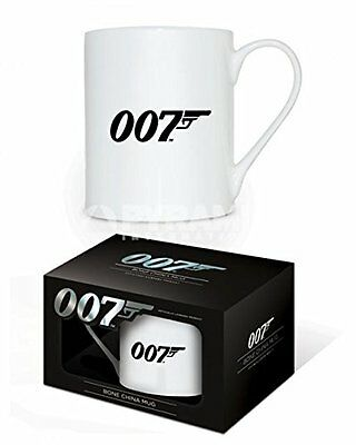Official James Bond - 007 Logo - Bone China Boxed Mug