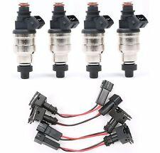 1000cc Fuel Injectors for honda Acura B16 B18 B20 D16 D18 F22 H22 H22A Inc.Clips