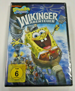 Spongebob-Schwammkopf-Wikinger-Abenteuer-DVD-2010-NEU