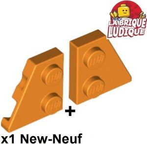 Lego 1x Aile Wedge plate 2x2 right droit left gauche d b gray 24299 24307 NEUF