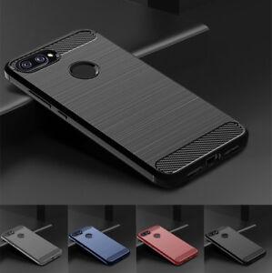 Pour-Xiaomi-mi-8-Pro-8-Lite-Etui-Slim-Fibre-de-Carbone-Doux-Protection-TPU-Coque