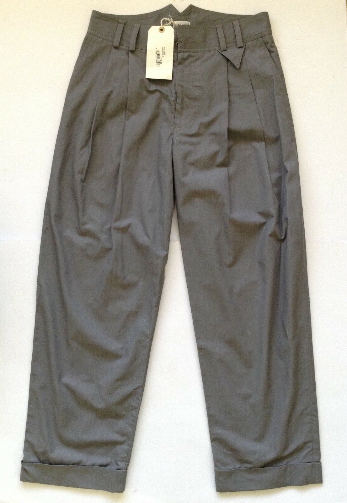 RICHARD NICOLL LADIES  GREY PLEATED TROUSERS SIZE 12 40