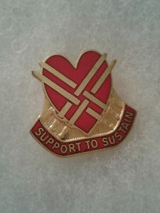 Authentic-US-Army-31st-Support-Group-DI-DUI-Unit-Crest-Insignia-IOH