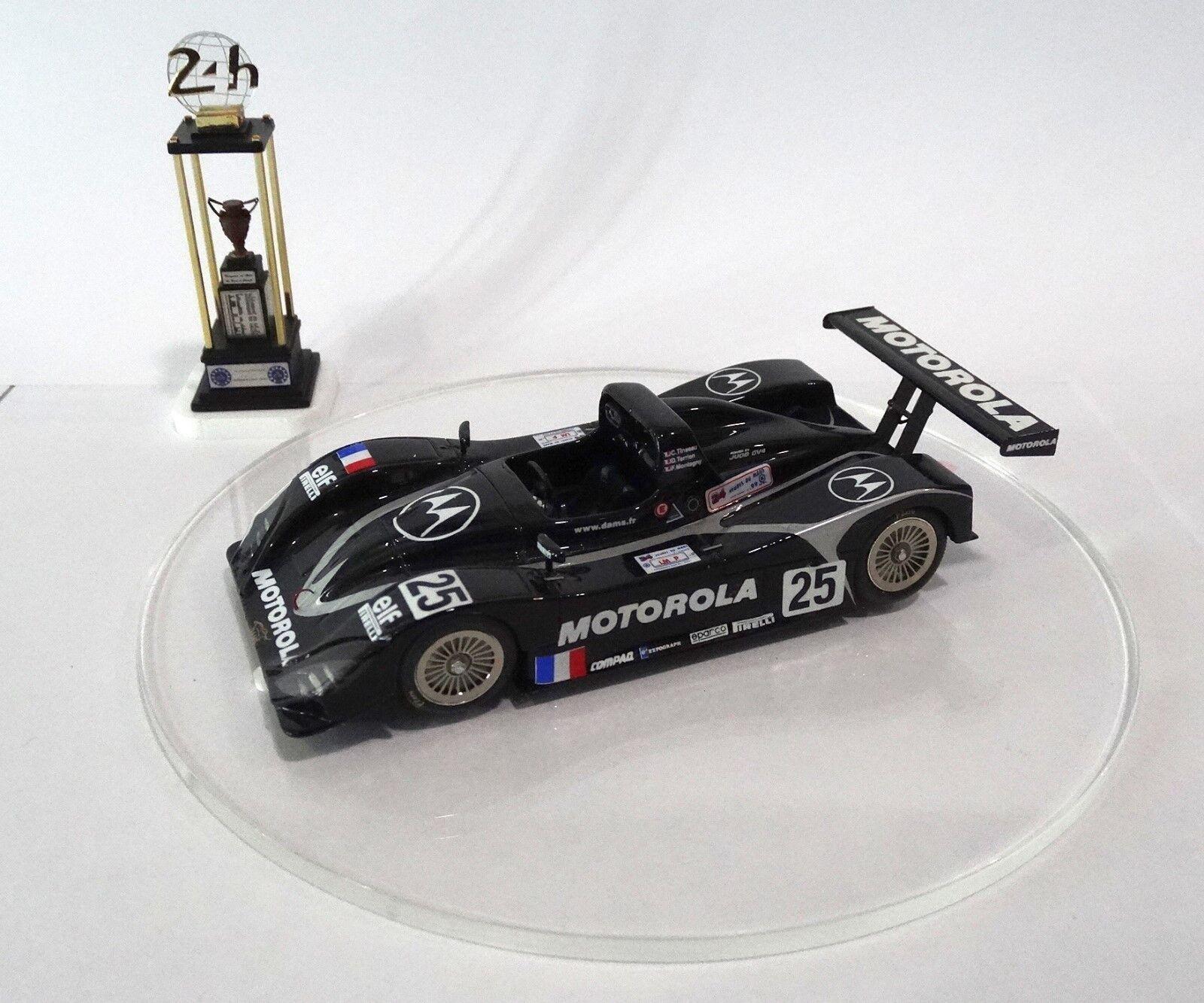 LOLA T98-10  25 DAMS Le Mans 1999 Built Monté Kit 1/43 no spark MINICHAMPS