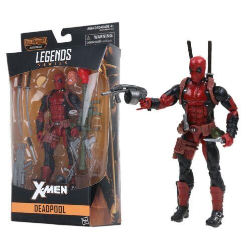 "6/"" Deadpool Figure Marvel Legends X-Men PVC Action Figure Brand New in Box"