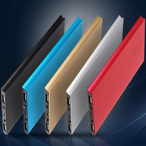 Portable-Slim-50000mAh-Powerbank-External-2USB-LED-Battery-Charger-For-CellPhone
