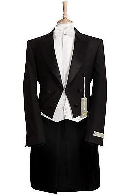 MENS BRAND NEW /'RACING GREEN BRAND/' BLACK WEDDING DRESS TUXEDO JACKET WAS £110