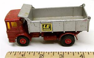 Vintage 1969 Matchbox King Size K-4 Leyland Tipper Lesney Die Cast Dump Truck