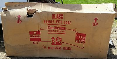 NOS Ford WINDSHIELD GLASS Carlite Tinted W835 IN THE BOX!!!