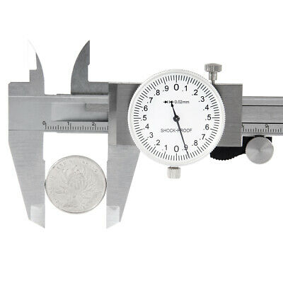 0.001 Inch Graduation 24 Inch Range Stainless Steel Shock Proof Dial Caliper