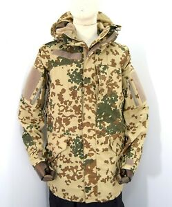 German-Army-Goretex-Parka-Jacket-Smock-Lined-Waterproof-Hooded-Top-Tropetarn