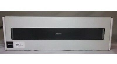 1 Year Warranty -FR Bluetooth BOSE SOLO 5 TV SOUND SYSTEM INCLUDES REMOTE