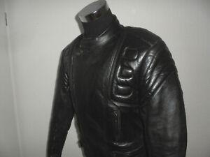 vintage-Motorradjacke-Bikerjacke-80s-Leder-Biker-80er-oldschool-rocker-L-54