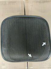 Herman Miller Aeron Chair Seat Mesh Black Pellicle With Blemish Size B 507