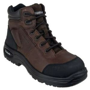 Reebok-Boots-Men-039-s-Brown-RB7755-Composite-Toe-Trainex-Work-Boots