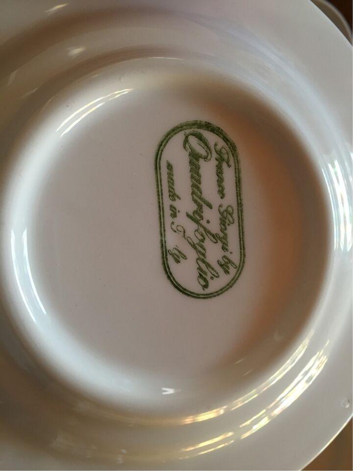 Porcelæn, Kaffe kopper og underkopper