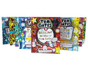 Liz-Pichons-Tom-Gates-Collection-10-Books-Brilliant-World-of-Tom-Gates-New