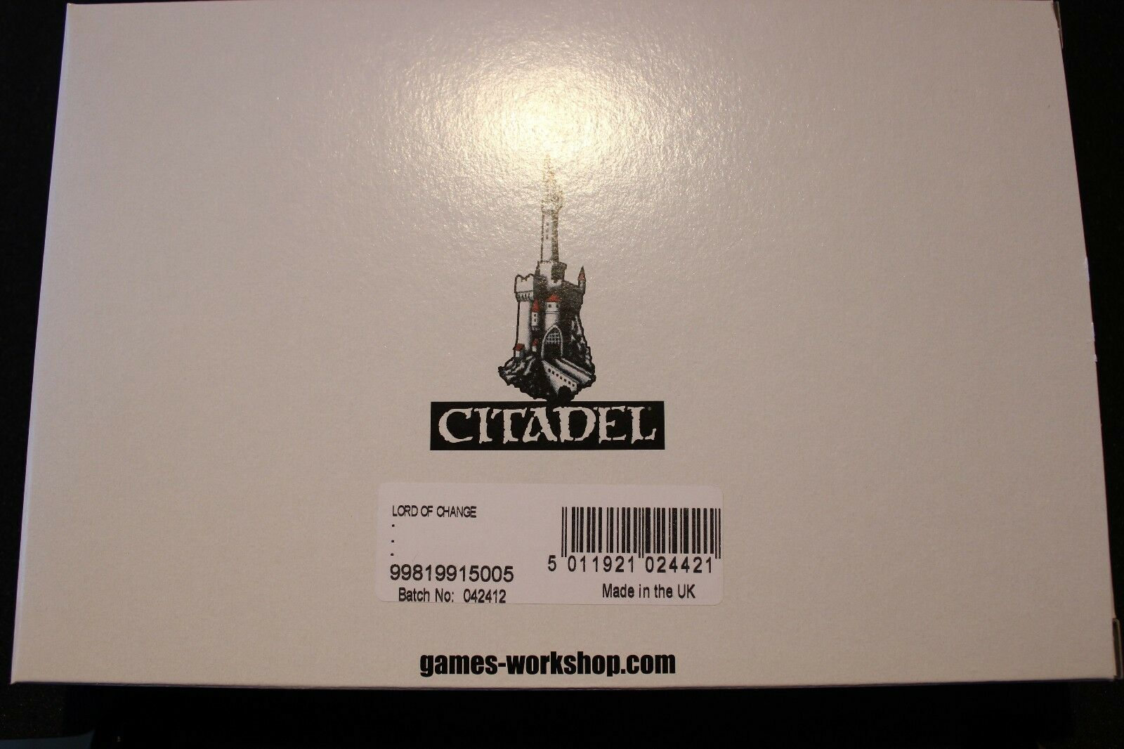 Games Workshop Warhammer Lord of Change Greater Daemon of Tzeentch Finecast New