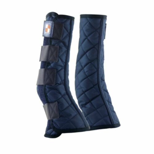 Equilibrium Equi-Chaps Stable Chaps Navy Various Sizes for horses