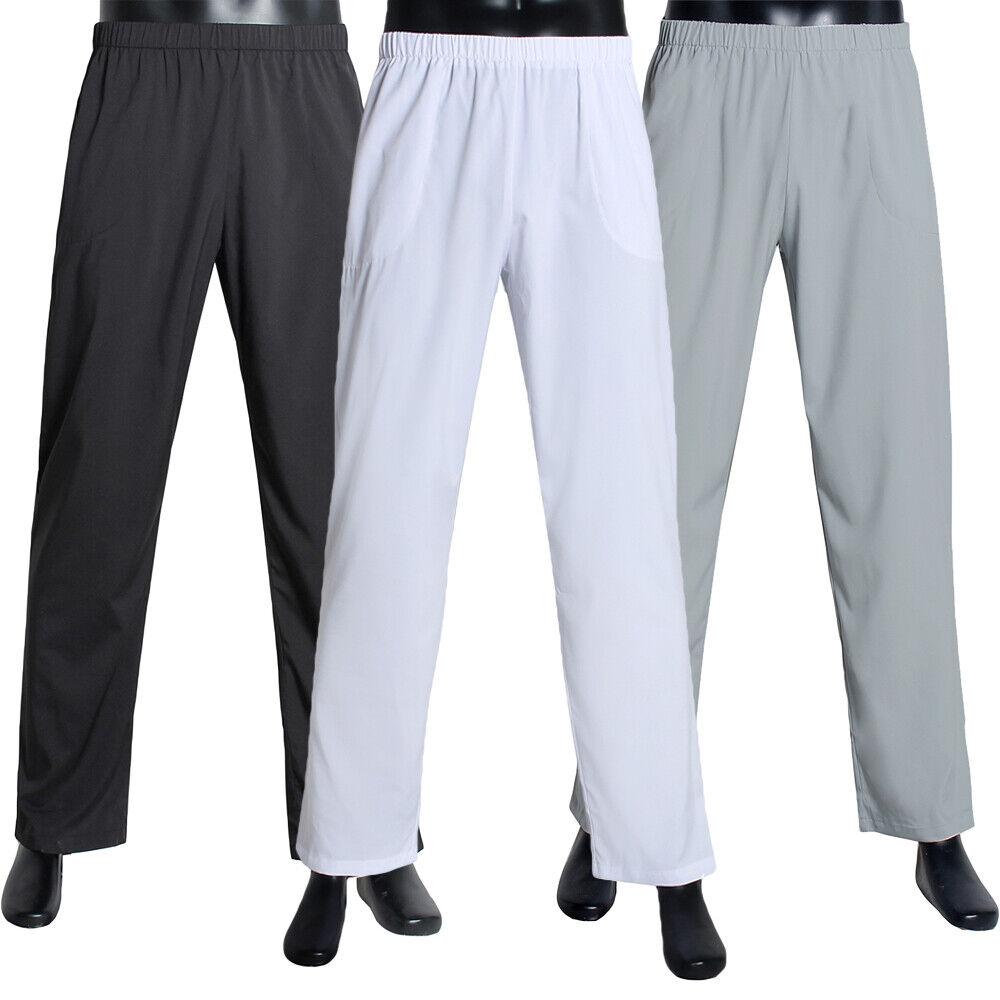 Arab Men Islamic clothing Thobe Pants Trousers Serwal Pajamas Wear Shalwar Under