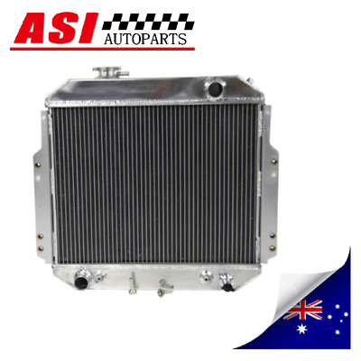 4Row Aluminum Radiator For Nissan GQ Patrol Y60 4.2L Manual 1988-1997